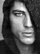 Atesh Salih, face of Georgio Armani for men